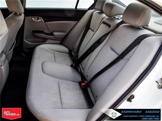 2014 Honda Civic LX (Stk: D180079A) in Markham - Image 12 of 24