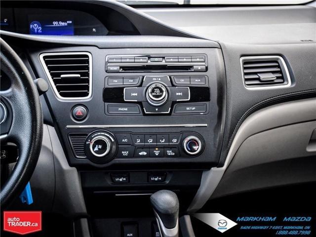 2014 Honda Civic LX (Stk: D180079A) in Markham - Image 14 of 24