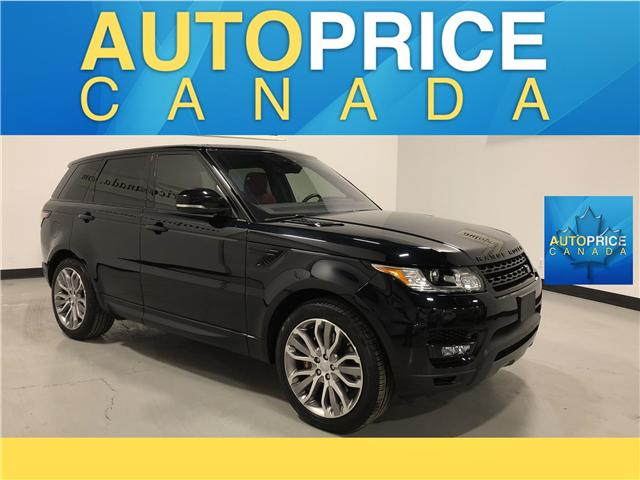 2017 Land Rover Range Rover Sport V8 Supercharged (Stk: N0119) in Mississauga - Image 1 of 30