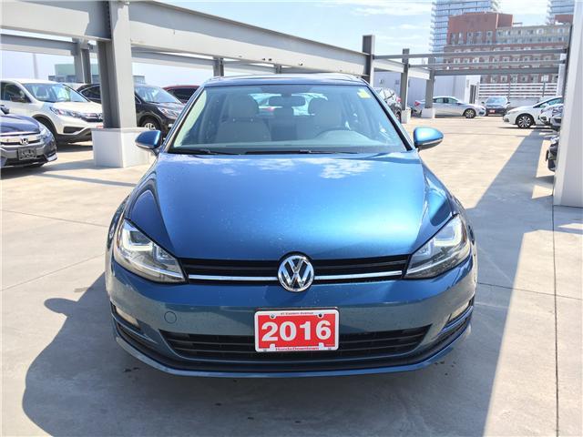 2016 Volkswagen Golf 1.8 TSI Comfortline (Stk: C19577A) in Toronto - Image 2 of 27