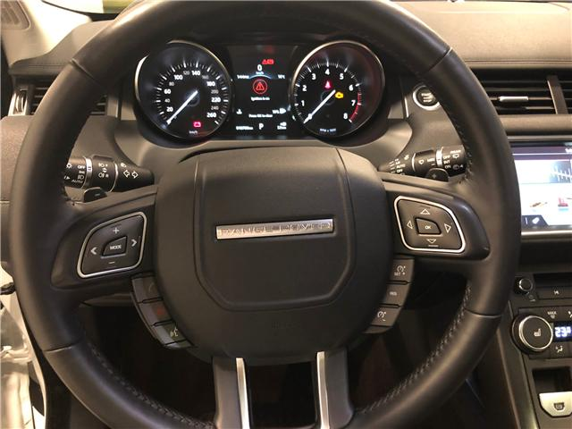 2018 Land Rover Range Rover Evoque SE (Stk: W0265) in Mississauga - Image 12 of 28