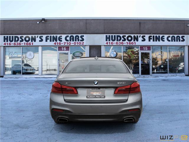 2017 BMW 540i xDrive (Stk: 78758) in Toronto - Image 5 of 26