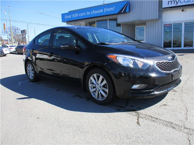 2015 Kia Forte 1.8L LX+ (Stk: 190464) in Kingston - Image 1 of 12
