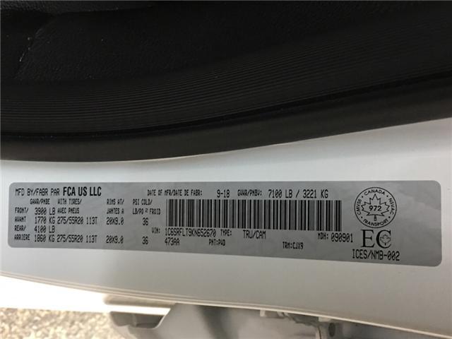 2019 RAM 1500 Sport (Stk: 34859R) in Belleville - Image 27 of 30