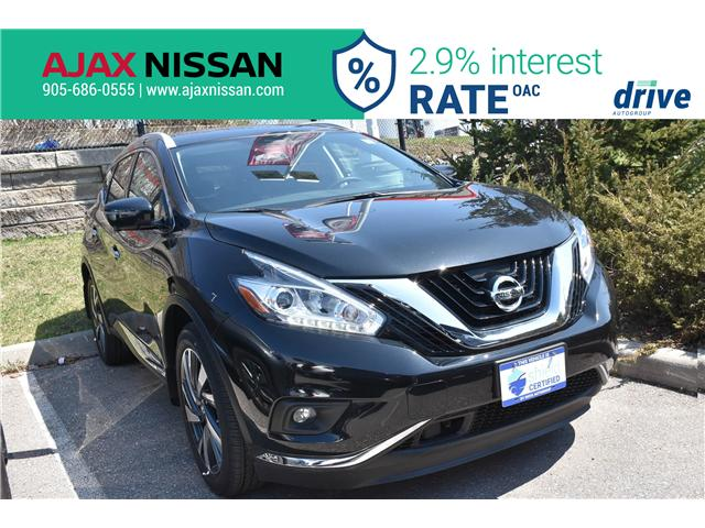 2018 Nissan Murano Platinum (Stk: P4103CV) in Ajax - Image 1 of 35