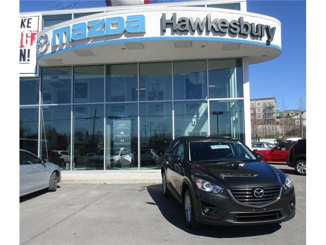 2016 Mazda CX-5 GS (Stk: HMC6423) in Hawkesbury - Image 1 of 9