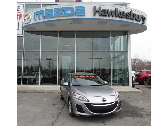 2010 Mazda Mazda3 GX (Stk: HMC6187B) in Hawkesbury - Image 1 of 9