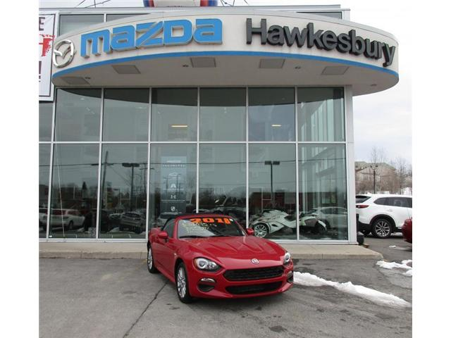 2018 Fiat 124 Spider  (Stk: HM16545) in Hawkesbury - Image 1 of 7