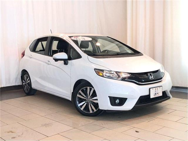 2016 Honda Fit EX-L   Low Mileage   Navigation   Leather   Sunroo (Stk: 38558) in Toronto - Image 1 of 30