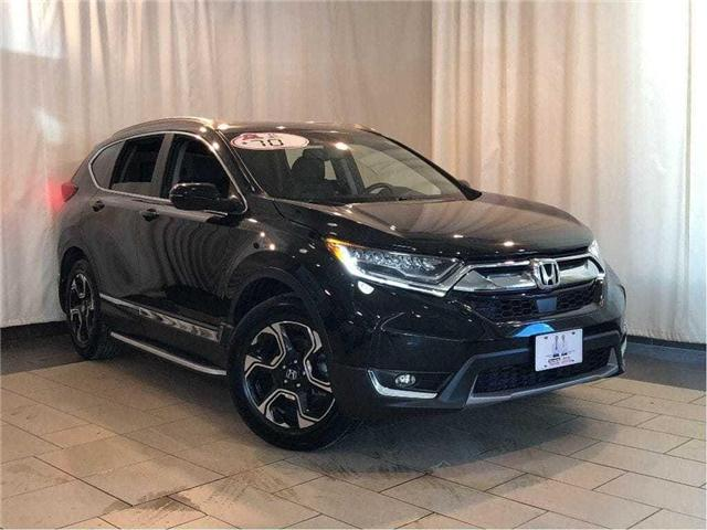2017 Honda CR-V Touring | Navigation | Leather | Sunroof | Clean C (Stk: 38536) in Toronto - Image 1 of 30