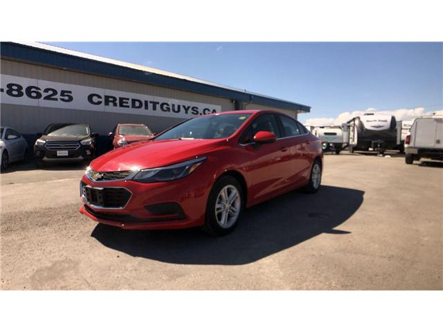 2017 Chevrolet Cruze LT Auto (Stk: I6867A) in Winnipeg - Image 1 of 22