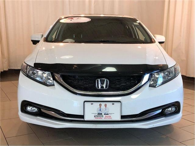 2014 Honda Civic Touring | Navigation | Leather | Sunroof | Alloys (Stk: 38831) in Toronto - Image 2 of 28