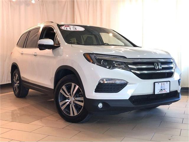2017 Honda Pilot EX-L w/ RES (DVD) | Leather | Alloys | Sunroof (Stk: 38820) in Toronto - Image 1 of 30