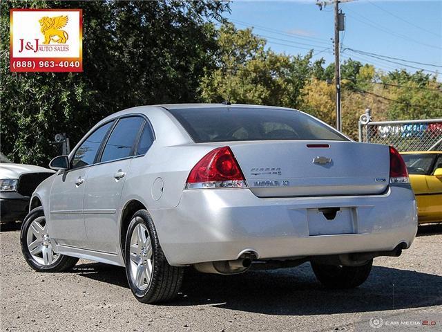 2013 Chevrolet Impala LT (Stk: J18071) in Brandon - Image 4 of 27
