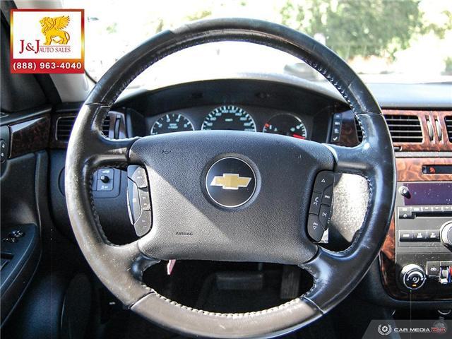 2013 Chevrolet Impala LT (Stk: J18071) in Brandon - Image 14 of 27