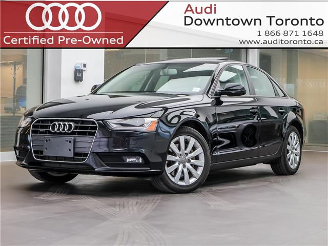 2014 Audi A4 2.0 Komfort (Stk: 190492A) in Toronto - Image 1 of 26