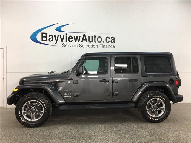 2018 Jeep Wrangler Unlimited Sahara (Stk: 34691W) in Belleville - Image 1 of 29