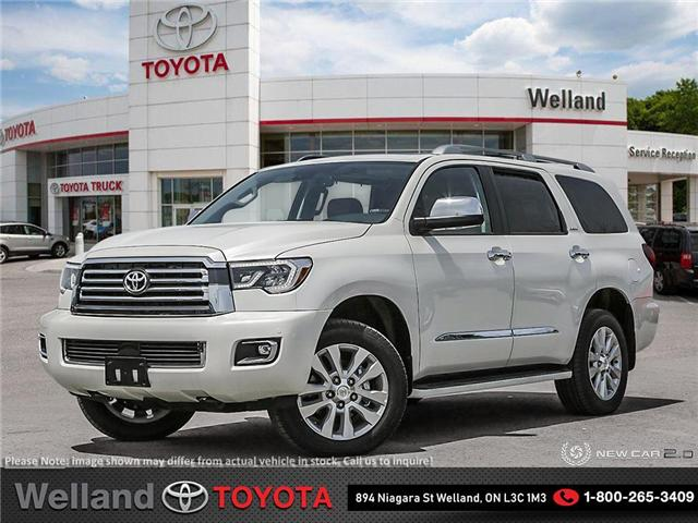 2019 Toyota Sequoia Platinum 5.7L V8 (Stk: SEQ6528) in Welland - Image 1 of 24