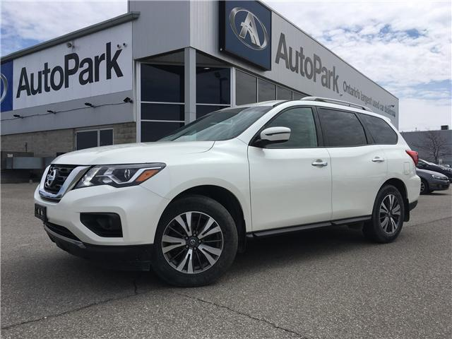 2018 Nissan Pathfinder SV Tech (Stk: 18-06817RJB) in Barrie - Image 1 of 28