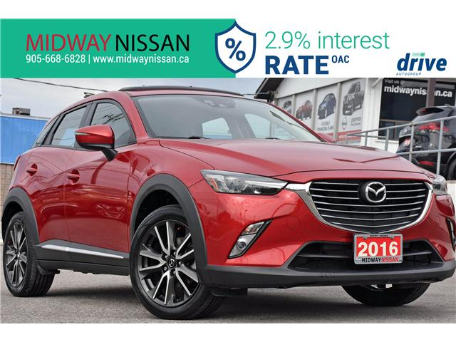 2016 Mazda CX-3 GT (Stk: U1668) in Whitby - Image 1 of 32