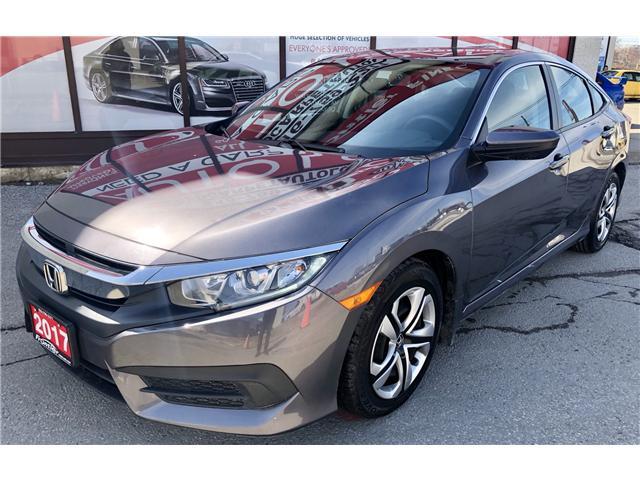 2017 Honda Civic LX (Stk: 010292) in Toronto - Image 2 of 15