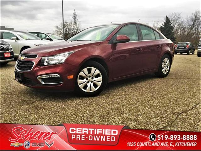 2015 Chevrolet Cruze 1LT (Stk: 590310) in Kitchener - Image 1 of 4