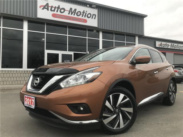 2017 Nissan Murano  (Stk: 19426) in Chatham - Image 1 of 25