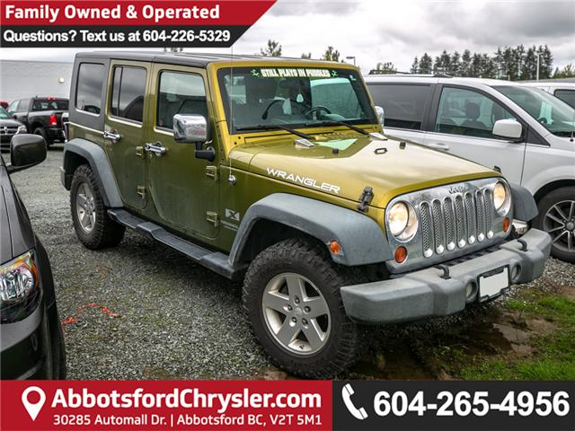 2008 Jeep Wrangler Unlimited X (Stk: AG0909A) in Abbotsford - Image 1 of 1