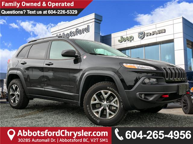 2017 Jeep Cherokee Trailhawk (Stk: K719070A) in Abbotsford - Image 1 of 25