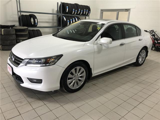 2015 Honda Accord EX-L (Stk: H1629) in Steinbach - Image 1 of 8
