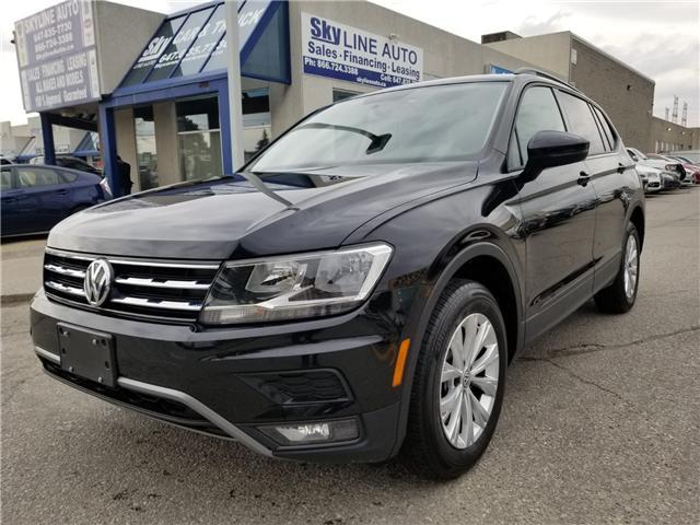 2018 Volkswagen Tiguan Trendline (Stk: ) in Concord - Image 1 of 23