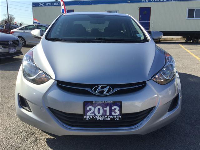 2013 Hyundai Elantra L (Stk: 7656H) in Markham - Image 2 of 8