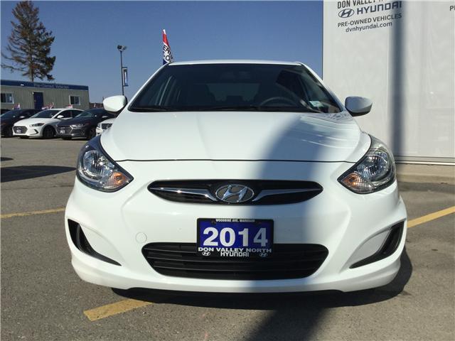 2014 Hyundai Accent GL (Stk: 7660H) in Markham - Image 2 of 14