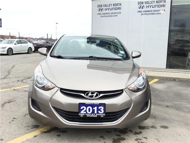 2013 Hyundai Elantra GL (Stk: 7642H) in Markham - Image 2 of 7