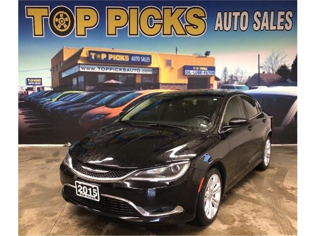 2015 Chrysler 200 Limited (Stk: 638936) in NORTH BAY - Image 1 of 26