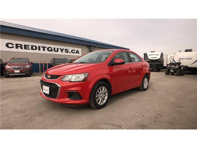 2018 Chevrolet Sonic LT Auto (Stk: I7195) in Winnipeg - Image 1 of 23