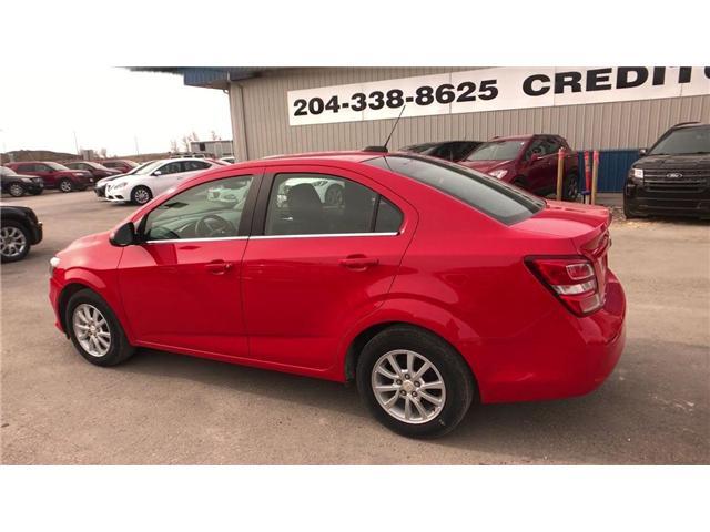 2018 Chevrolet Sonic LT Auto (Stk: I7195) in Winnipeg - Image 6 of 23
