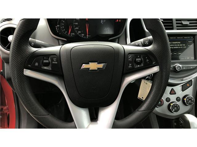 2018 Chevrolet Sonic LT Auto (Stk: I7195) in Winnipeg - Image 14 of 23