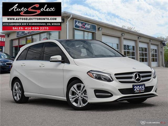 2015 Mercedes-Benz B-Class 4Matic (Stk: 125KL4W) in Scarborough - Image 1 of 27
