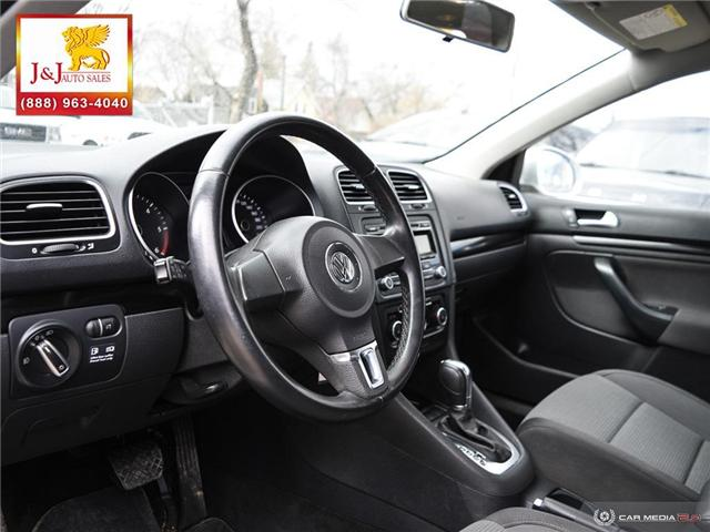 2012 Volkswagen Golf 2.0 TDI Comfortline (Stk: J18096) in Brandon - Image 13 of 27