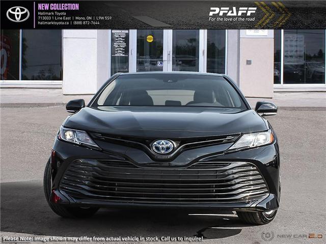 2019 Toyota Camry Hybrid LE CVT (Stk: H19410) in Orangeville - Image 2 of 24