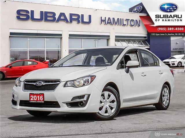 2016 Subaru Impreza 2.0i (Stk: U1432) in Hamilton - Image 1 of 25