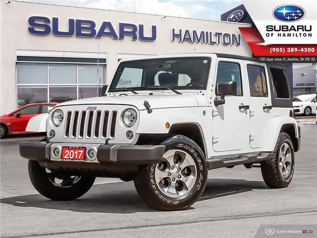 2017 Jeep Wrangler Unlimited Sahara (Stk: U1427A) in Hamilton - Image 1 of 24