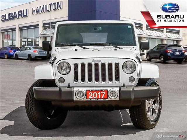 2017 Jeep Wrangler Unlimited Sahara (Stk: U1427A) in Hamilton - Image 2 of 24