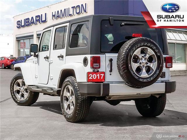 2017 Jeep Wrangler Unlimited Sahara (Stk: U1427A) in Hamilton - Image 4 of 24