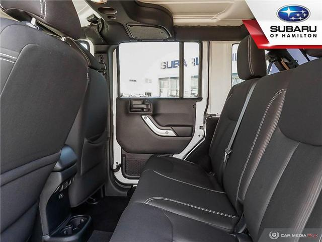2017 Jeep Wrangler Unlimited Sahara (Stk: U1427A) in Hamilton - Image 15 of 24