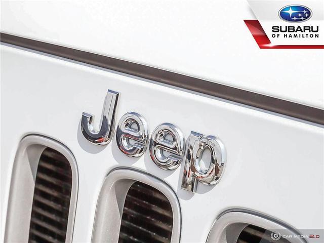 2017 Jeep Wrangler Unlimited Sahara (Stk: U1427A) in Hamilton - Image 20 of 24
