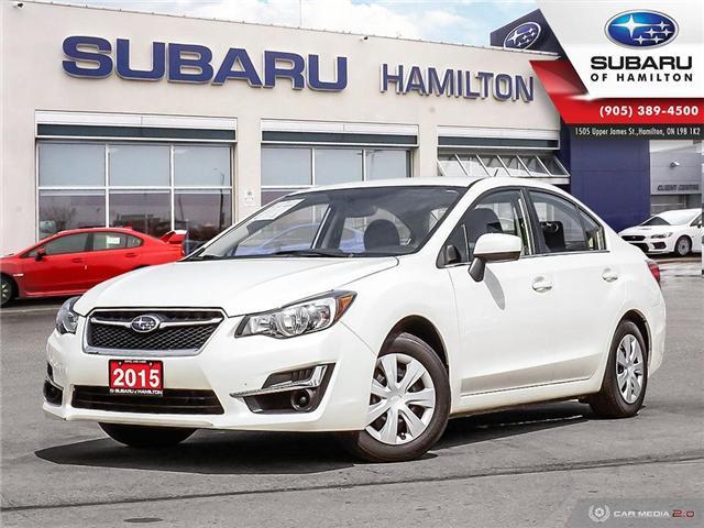 2015 Subaru Impreza 2.0i (Stk: U1429) in Hamilton - Image 1 of 25