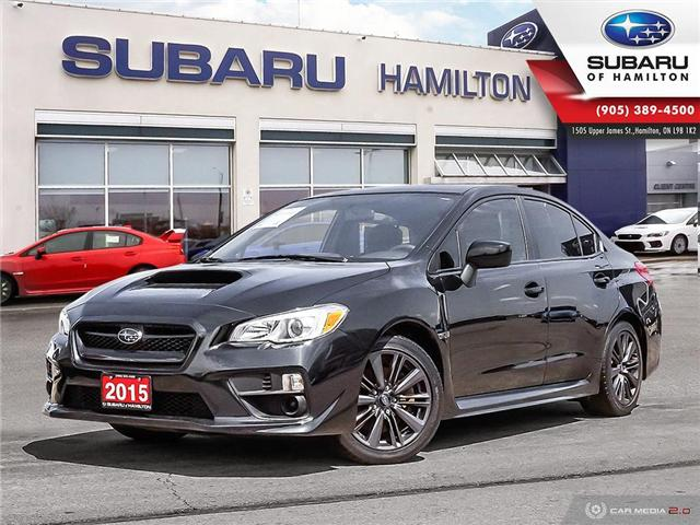2015 Subaru WRX Base (Stk: S7584A) in Hamilton - Image 1 of 21