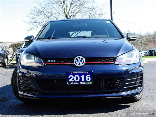 2016 Volkswagen Golf GTI 5-Door Autobahn (Stk: PR7323) in Windsor - Image 2 of 27